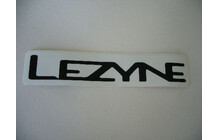 Sticker &quot;Lezyne&quot; black 